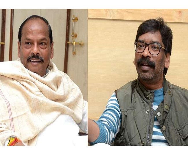 'Battle of CMs': JMM's Hemant Soren leads in Dumka and Barhait, Raghubar Das trails in Jamshedpur East
