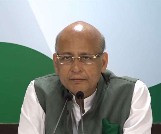 'Thought it was fake news': Congress' Abhishek Singhvi takes 'fast movers' dig at his party as Fadnavis, Ajit Pawar take oath as CM and deputy CM