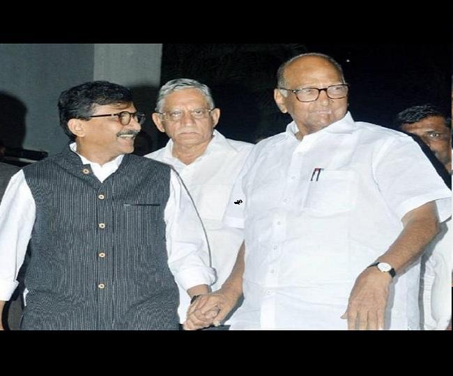 Maha Impasse Updates   'BJP, Sena should form govt soon': Sharad Pawar after meeting Sanjay Raut