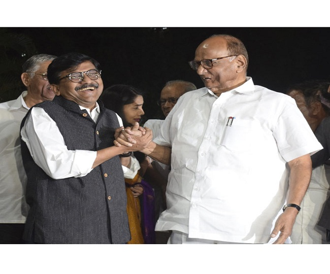 Maha Govt Formation | Sena may get 16 berths, NCP 14 and Cong 12; trio to meet Governor today