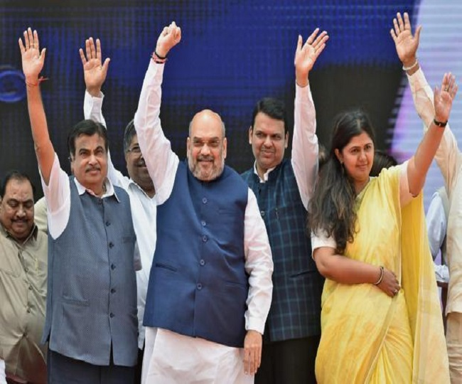 Maha Govt Formation | Fadnavis takes oath as CM, Ajit Pawar becomes his deputy CM, a look at how leaders reacted to this turnaround