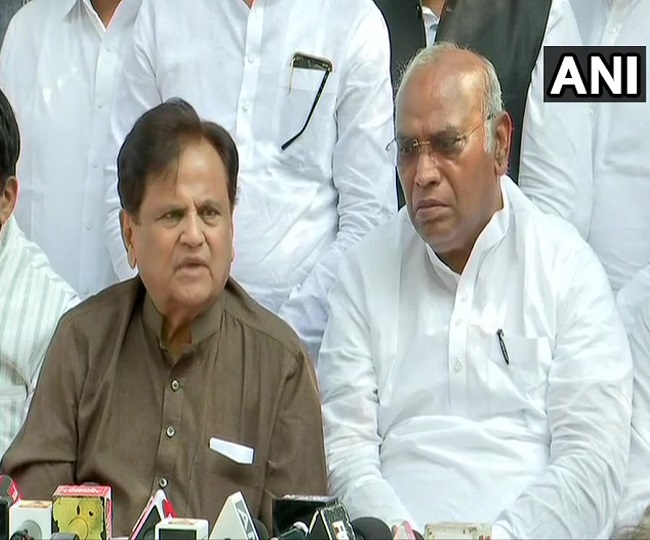 Maharashtra Govt Formation | 'Black spot in history of state, we'll fight this on legal and political front': Congress' Ahmed Patel