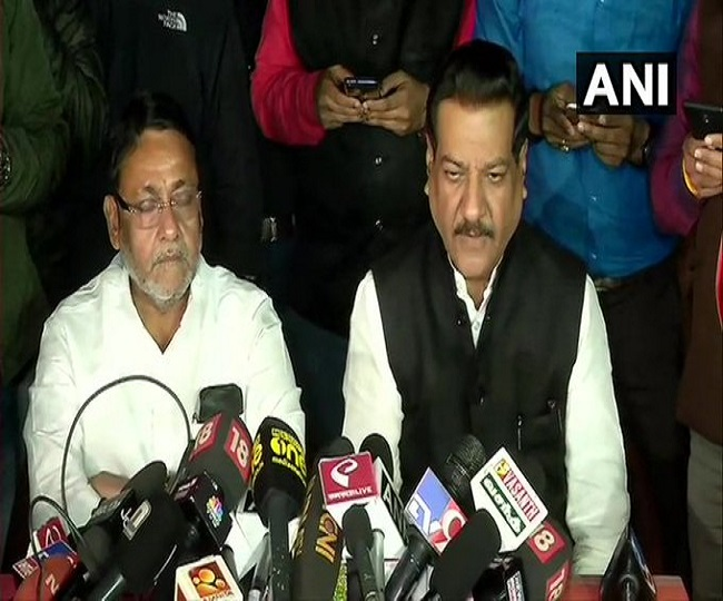 Maharashtra Impasse | 'Talks to continue, will give a stable govt soon': Prithviraj Chavan after Cong, NCP meet