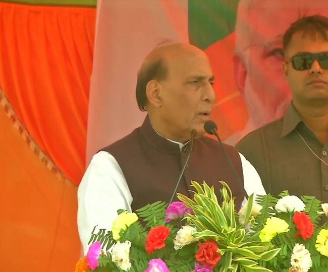 Jharkhand Assembly Polls 2019 | 'We fulfilled Dr SP Mukherjee's dream by abrogating Article 370 from J-K': Rajnath Singh