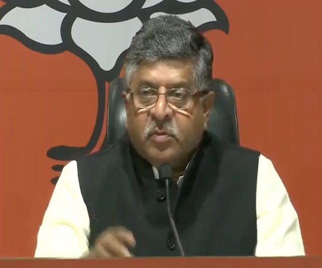 Maharashtra Govt Formation | Sena-Cong-NCP conspired to control Mumbai, BJP will prove majority in House: RS Prasad