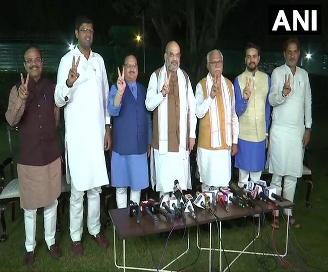 Haryana Election Results | BJP finalises alliance deal with JJP, to stake claim to form govt today