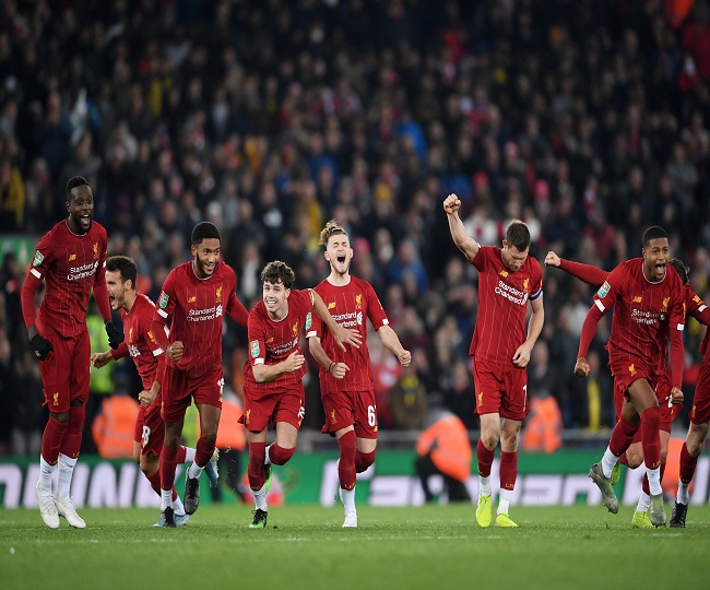 League Cup: Liverpool defeat Arsenal in 19-goal thriller; Man Utd beat Chelsea 2-1