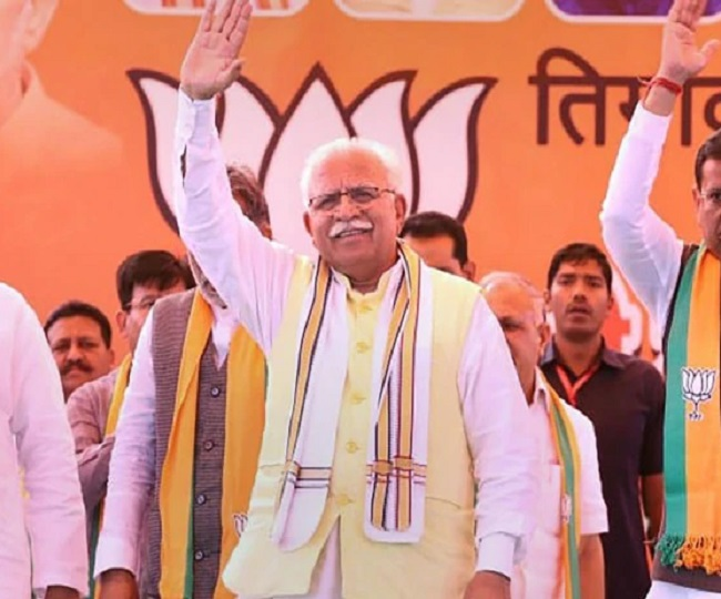 Haryana Elections Results: Khattar to stake claim to form govt, JJP emerges kingmaker in hung House | As it happened