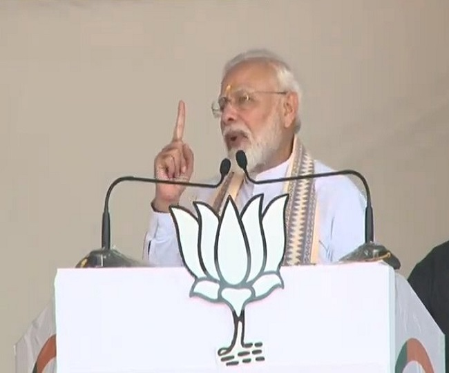Maharashtra Assembly Elections 2019   History will take note of those who ridiculed J-K move: PM Modi