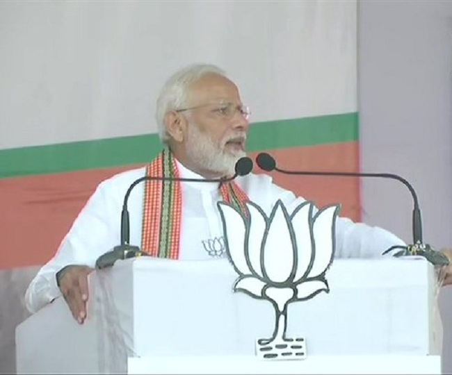Maharashtra Elections   'Doob Maro': PM Modi slams oppn for questioning Article 370's mention in poll rallies