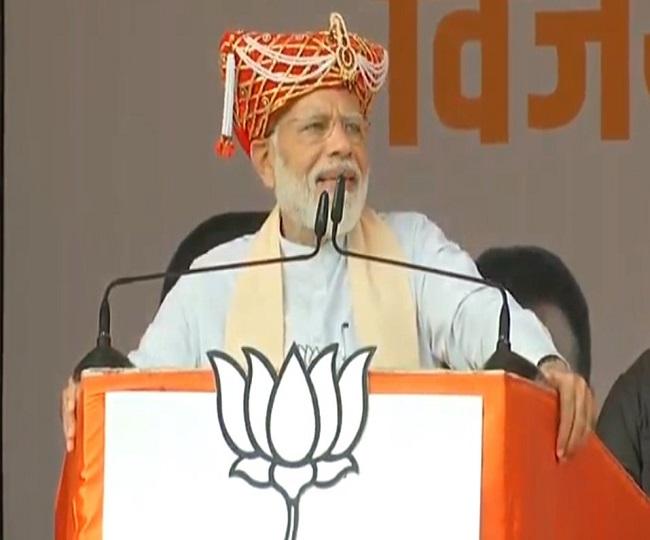 Maharashtra Assembly Elections 2019   Oppn's poor advertisement of Rafale hurts nationalism: PM Modi