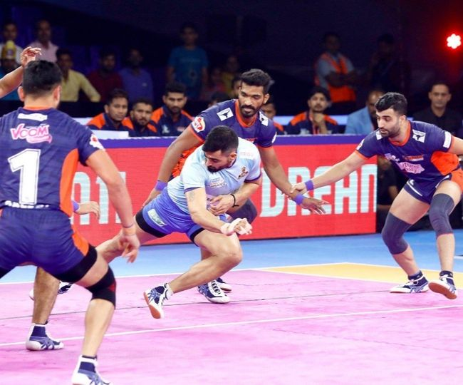 Pro-Kabaddi league: Desai helps Telugu Titans finish campaign on high note, Bengal Warriors claims top spot