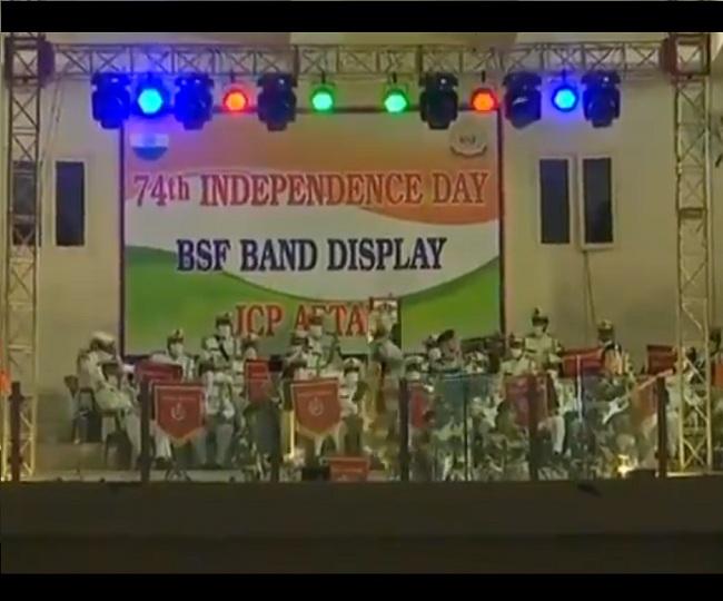 Independence Day 2020 | Watch: BSF Band gives soulful music performance at Attari-Wagah border