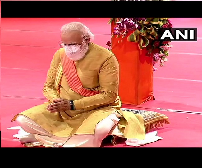 'Testimony to ideals of Ram Rajya': Who said what as PM Modi lays foundation for 'grand temple' in Ayodhya