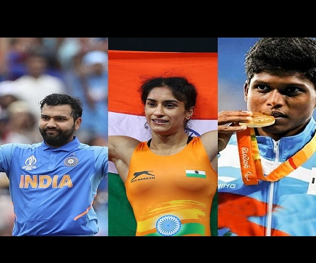 Rohit Sharma, Vinesh Phogat among 5 Khel Ratna recipients, Dutee Chand, 27 others to get Arjuna Award