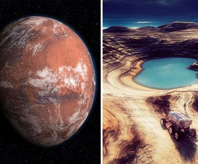 Researchers say Mars was covered in ice sheets, not flowing water