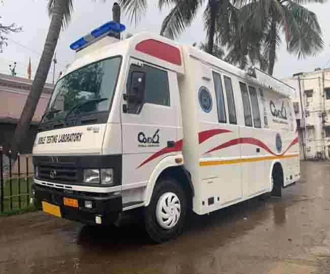 Karnataka: First-of-its-kind mobile lab for COVID-19 testing