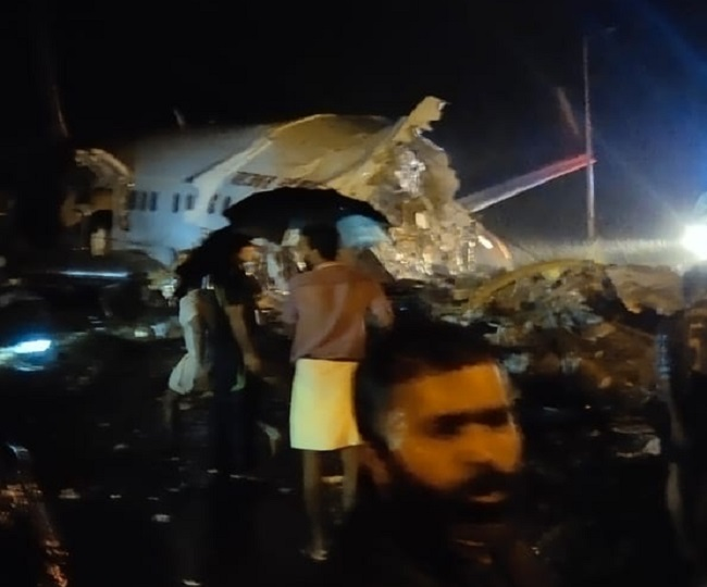 Air India Plane Crash: Kerala minister says plane skidded off because of heavy rain