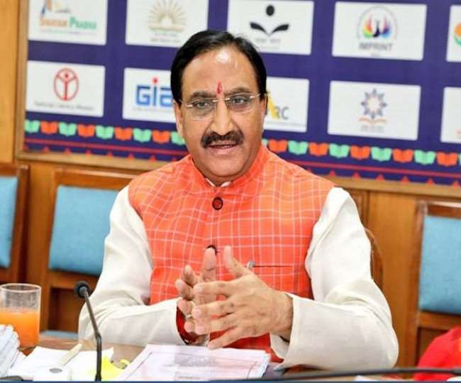 Education Minister Ramesh Pokhriyal releases alternative academic calendar for Classes 6 to 8