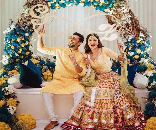 'GaZabKaHaiDin': Gauahar Khan-Zaid Darbar kick-off pre-wedding festivities | See Pics Inside