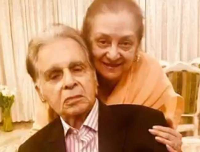 Dilip Kumar is 'not too well'; taking care of him 'out of love', says Saira Banu