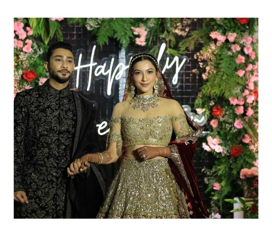 In Pics: Gauahar Khan and Zaid Darbar's wedding reception photos are a sight to behold. Seen yet?