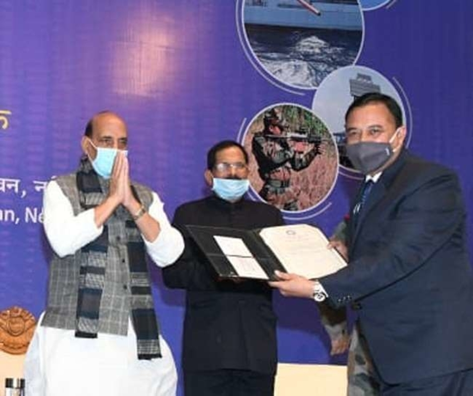 DRDO scientist who developed herbal drug to treat leucoderma conferred with 'Scientist of the Year Award'