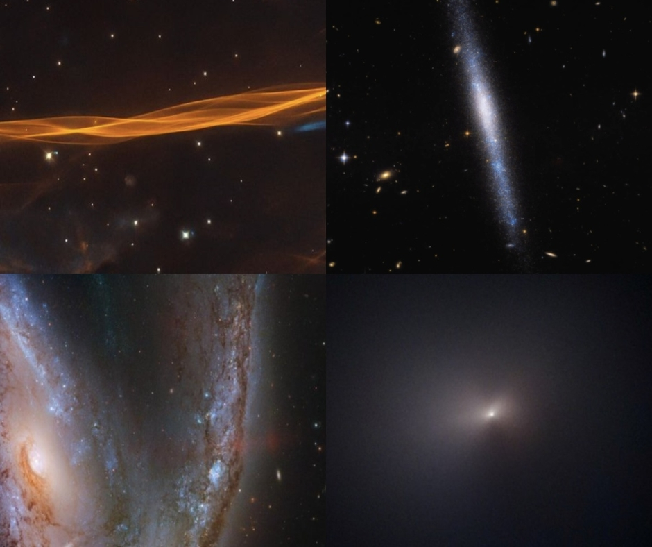 Supernova blast wave, waterfall of stars, celebrity comet: Behold the best Hubble Space Telescope images of 2020