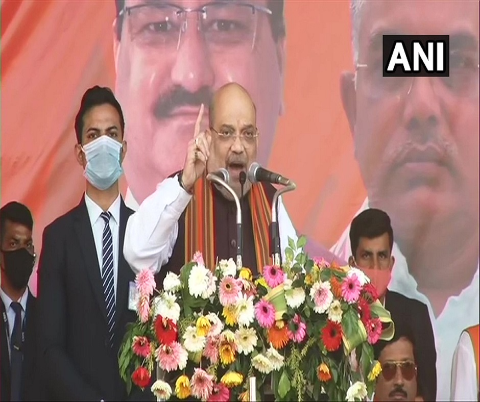 'Didi will be left alone, she is only worried about nephew': Amit Shah's dig at Mamata Banerjee