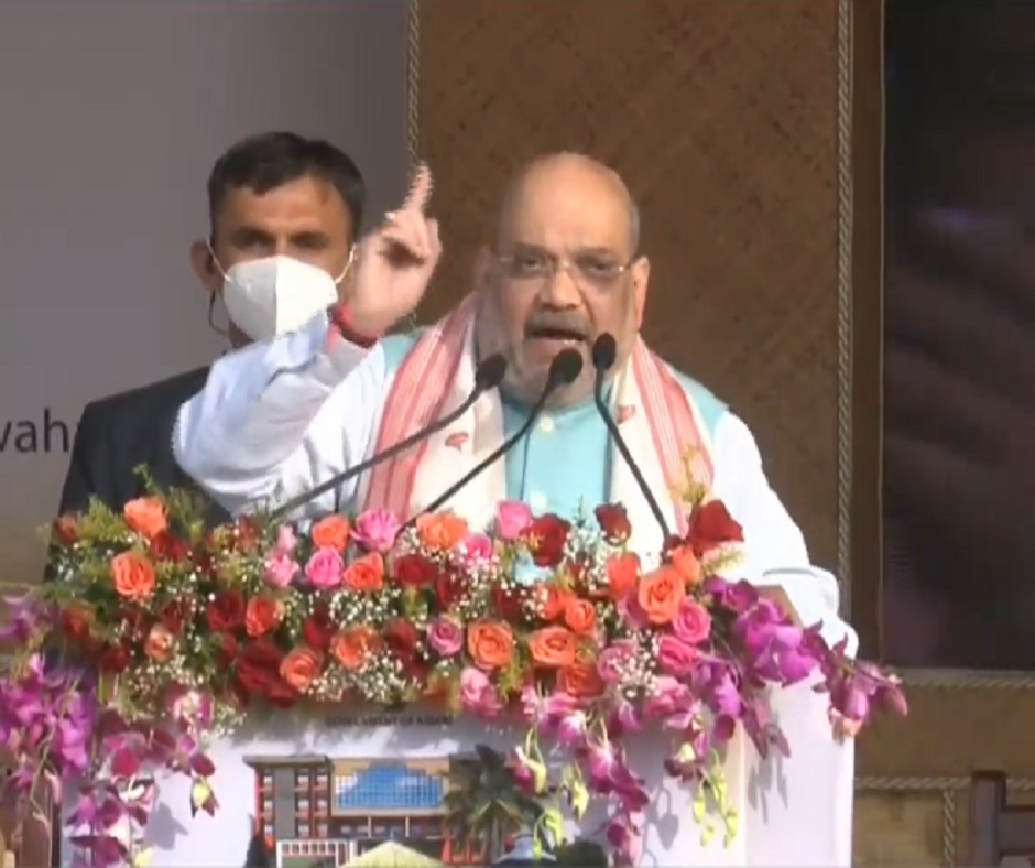 'Infiltration a big problem in Assam, only we can stop it': Amit Shah launches BJP's 2021 poll campaign
