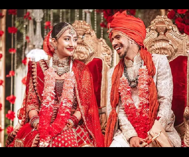 'Our happily ever after': Yuzvendra Chahal ties knot with Dhanashree Verma, shares adorable pics on Instagram