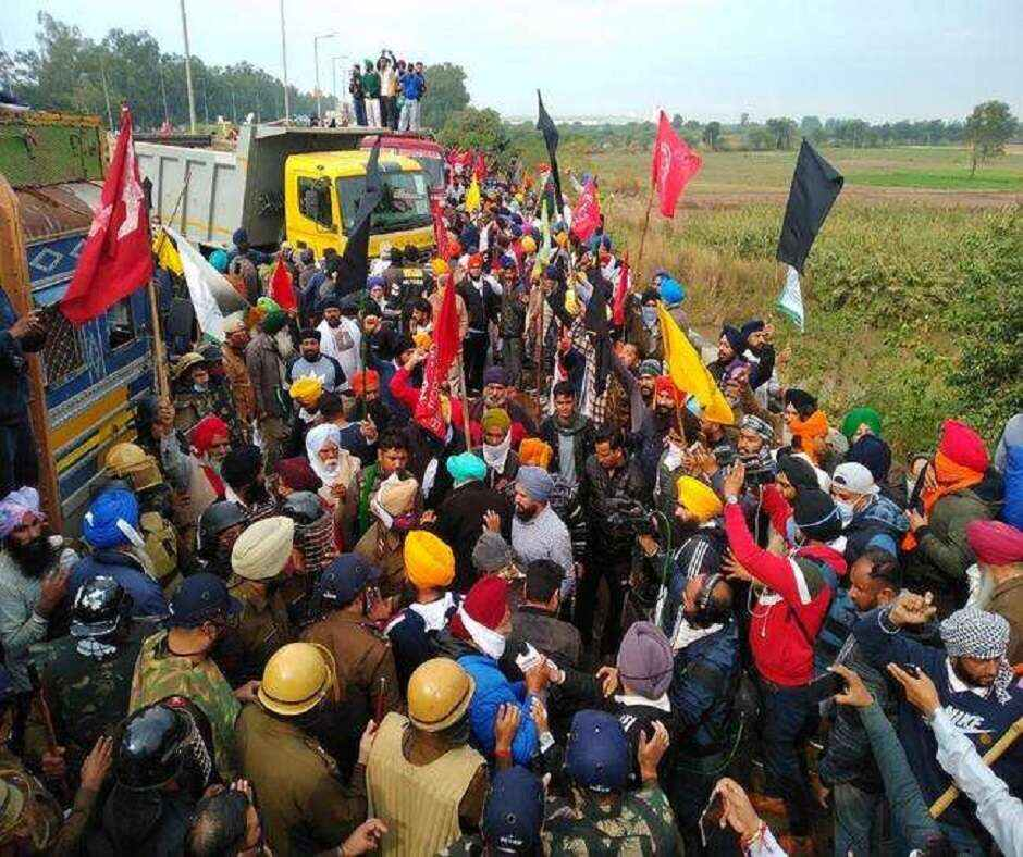 Farmers' Protest: Security beefed-up at Tikri, Dhansa and Chilla borders as farmers threaten to intensify stir   Highlights