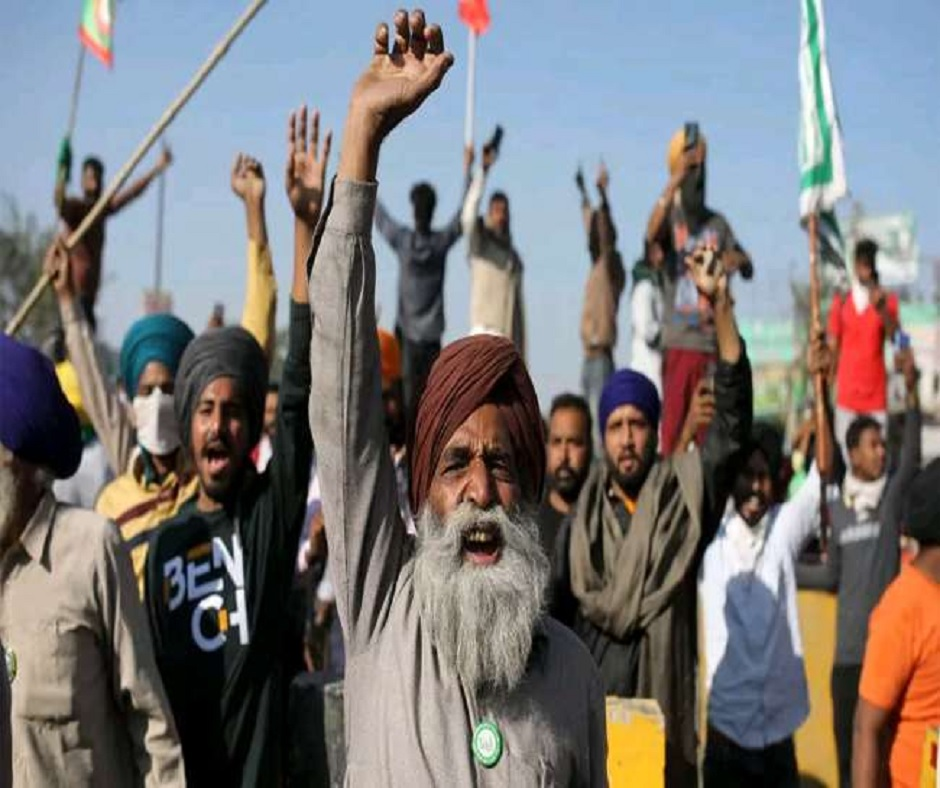Farmers' protests: Farmers to begin relay hunger strike on Monday; halt toll collection in Haryana from Dec 25-27