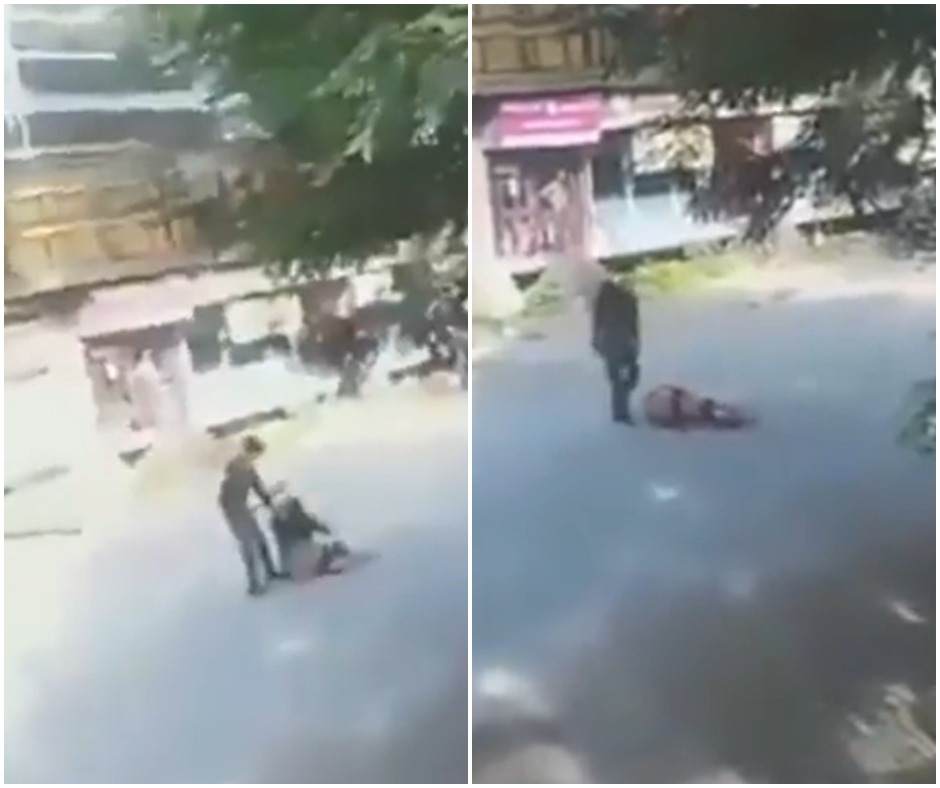 Caught on Camera: Karnataka man attacks woman with machete in broad daylight; arrested