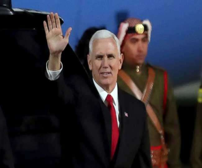 US Vice President Mike Pence receives COVID-19 vaccine on live TV