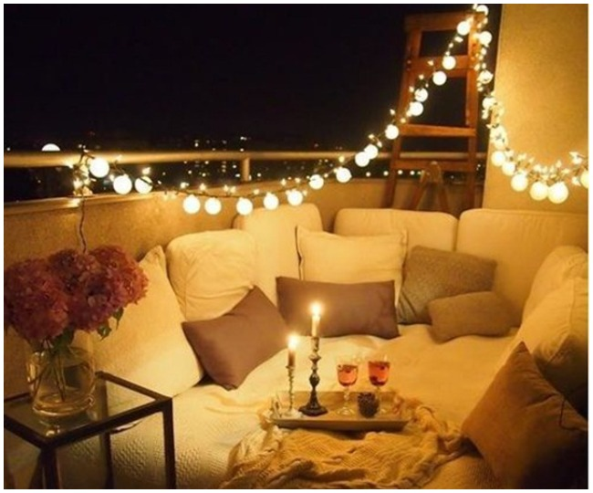 Happy New Year 2021 4 Quirky Diy Hack To Decorate Your Terrace To Celebrate New Year