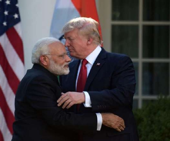 Donald Trump presents PM Modi with top US honour 'Legion of Merit' for elevating India-US ties