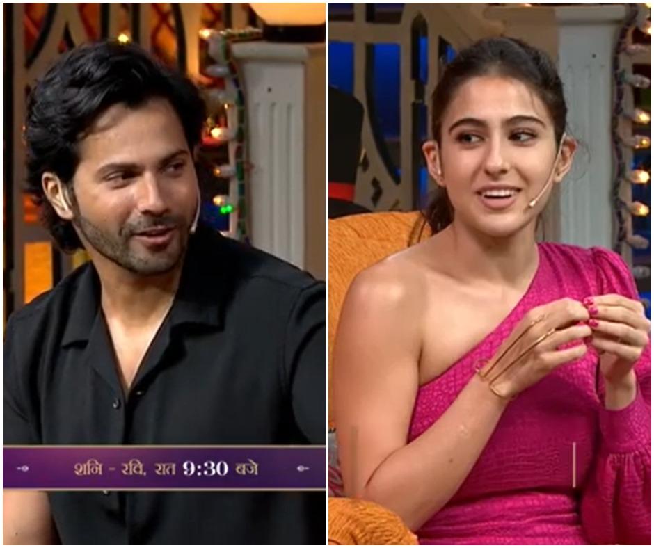 'Ab hum apko chhu sakte hai': Sara Ali Khan teases Varun Dhawan on his return after COVID-19 recovery