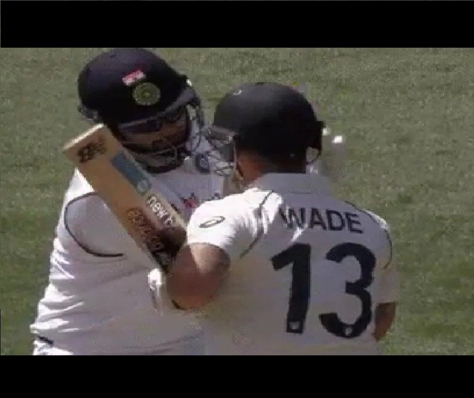 'You're looking at yourself on big screen?': Matthew Wade, Rishabh Pant engage in friendly banter | Watch