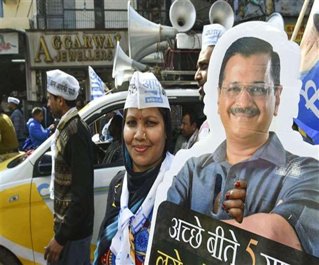 Delhi Elections 2020: Kejriwal-led AAP's set for massive win with 48-61 seats, predicts Republic TV-Jan Ki Baat exit poll