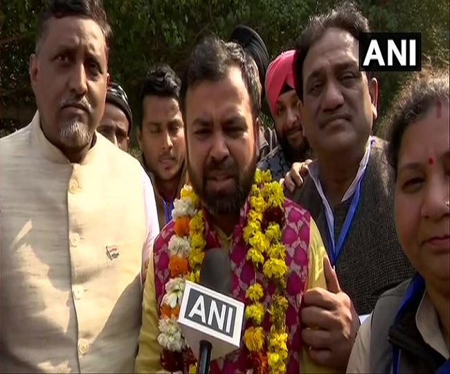 Model Town Election Results 2020: 'Victory of development', says AAP's Akhilesh Tripathi after defeating BJP's Kapil Mishra