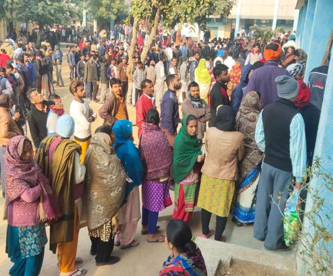 Delhi Assembly Elections 2020: 59.46 per cent voter turnout recorded till the end of voting in national capital