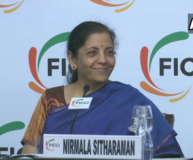 Union Budget 2020   Government very transparent in setting new fiscal deficit target: Nirmala Sitharaman