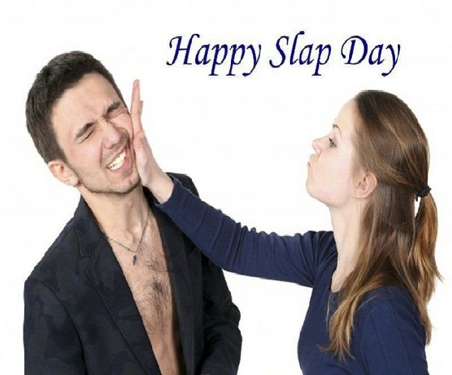 Image result for 15 february slap day quotes