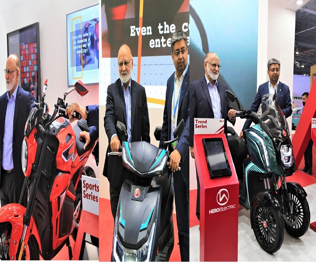 Auto Expo 2020: Hero Electric unveils its 'high-speed' electric bike, scooter and trike at mega automobile exhibition
