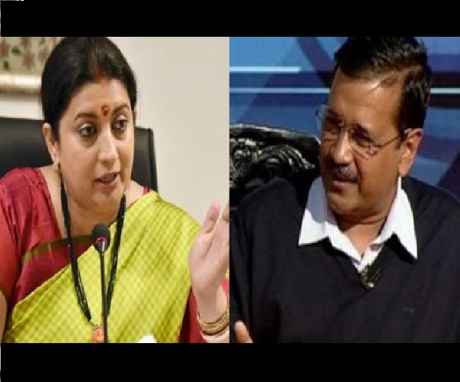 Delhi Assembly Elections 2020 | 'Anti-women!': Smriti Irani slams Arvind Kejriwal for his 'discuss with men' remark
