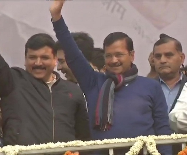 Delhi Election Results 2020: Delhi has given birth to 'politics of work', says Arvind Kejriwal as AAP wins big | As it happened