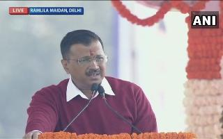 'Be it BJP or Congress, I am everyone's CM': Arvind Kejriwal begins third..