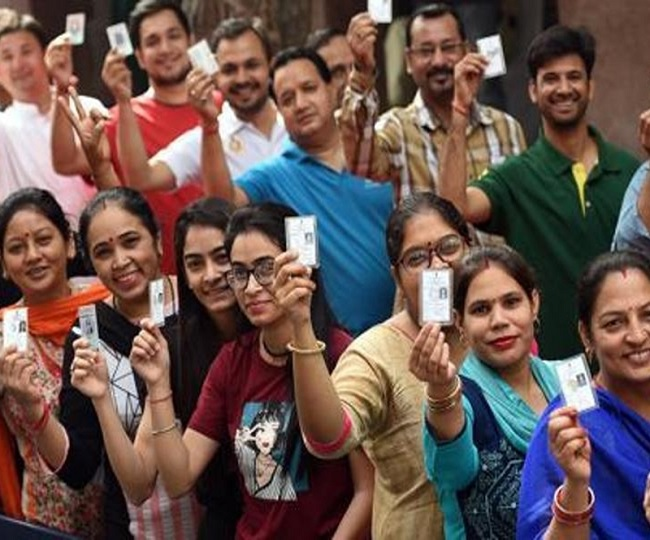 Delhi Assembly Elections 2020   20.25 pc turnout recorded till 1 pm, Kejriwal says 'hopeful of AAP forming govt again'