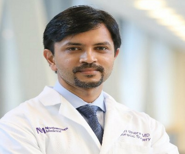 Meet Dr Ankit Bharat, the Indian-origin surgeon who conducted 1st lung transplant of a COVID-19 patient in US